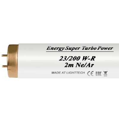 Лампы для солярия LightTech Energy Super Turbo Power Ne/Ar 200 W 2м