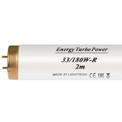 Лампы для солярия Energy Turbo Power 180 W-R LightTech 2 m